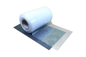 Transparent self-adhesive film. Immagine